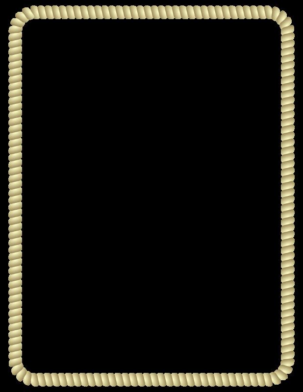 Clipart reindeer border. Rope medium image png