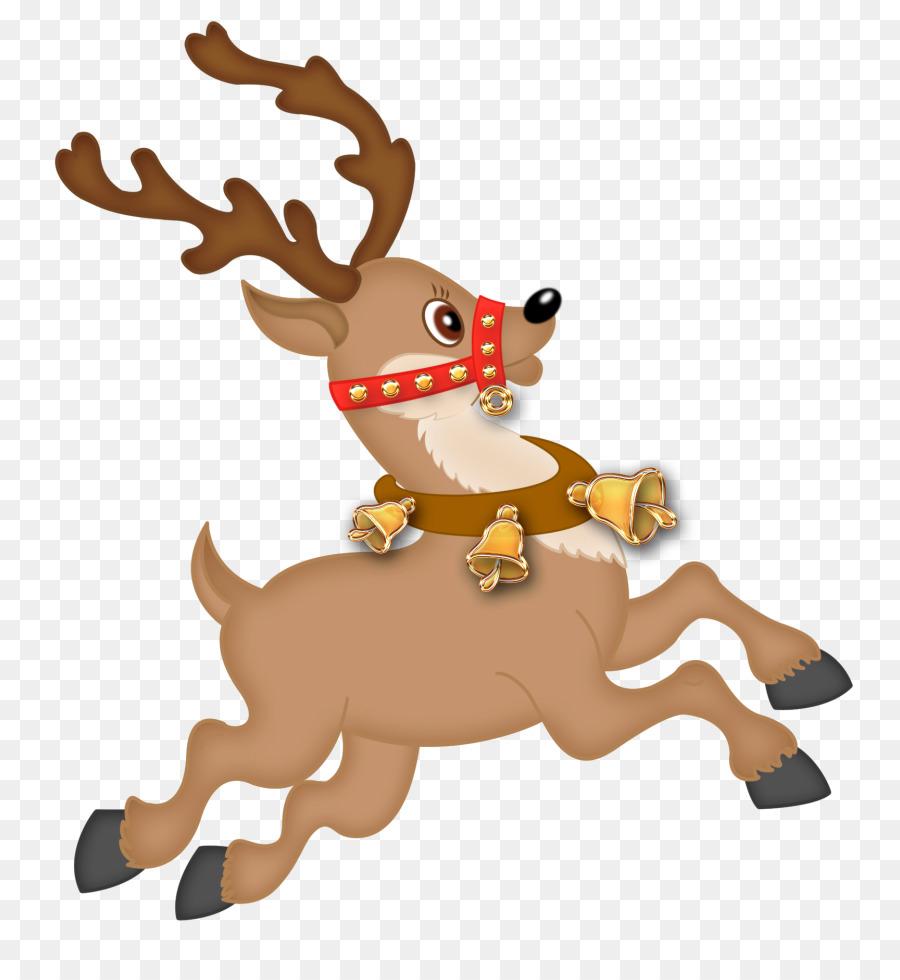 Clipart reindeer catoon. Santa claus drawing cartoon
