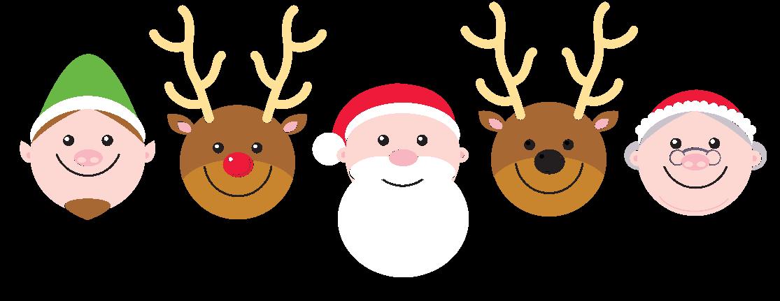 Christmas specials . Clipart reindeer character