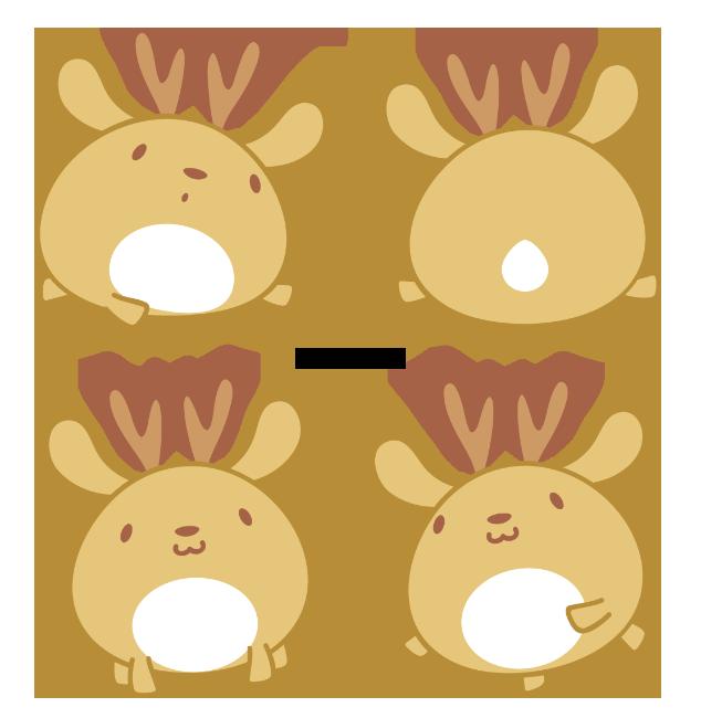 Cervo explore on deviantart. Clipart reindeer cute anime