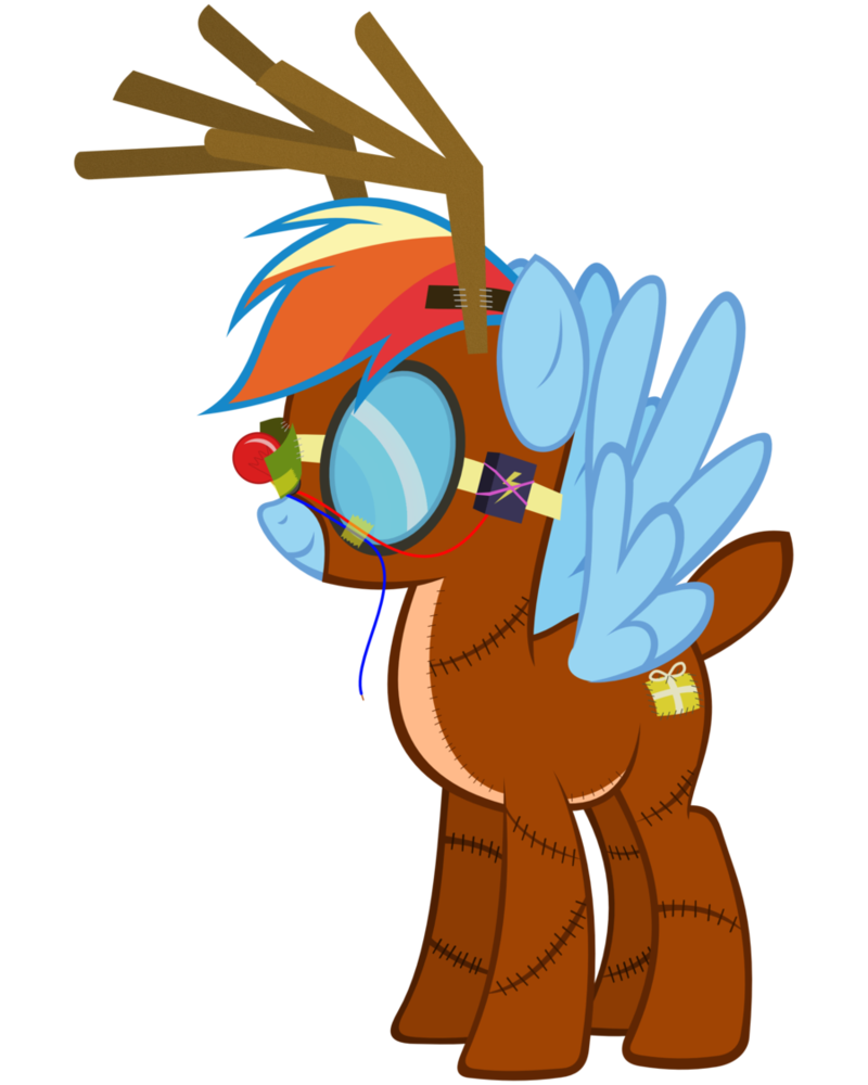 Dash by misteraibo on. Clipart reindeer dasher