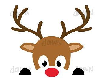 Portal . Clipart reindeer face