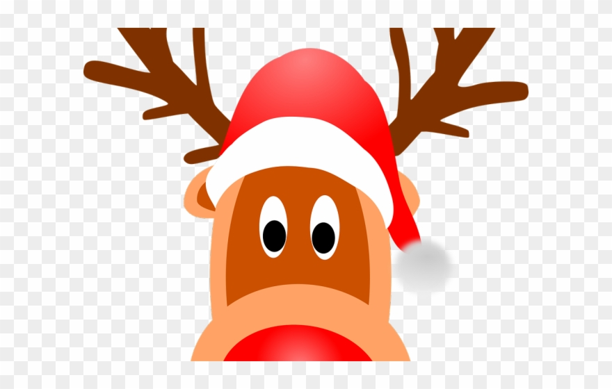 Clipart reindeer face. Antlers headband png christmas