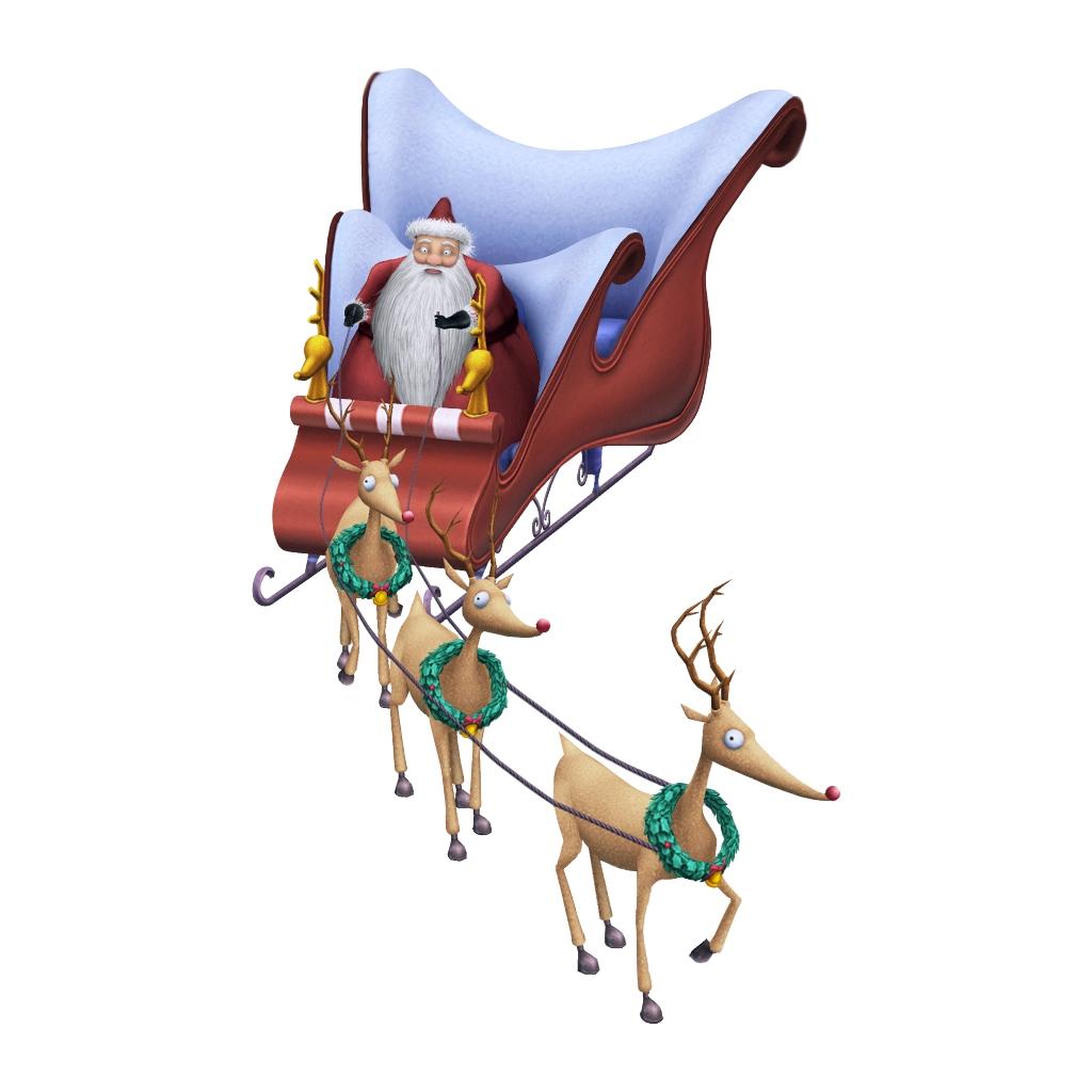 Image santa s khii. Clipart reindeer file