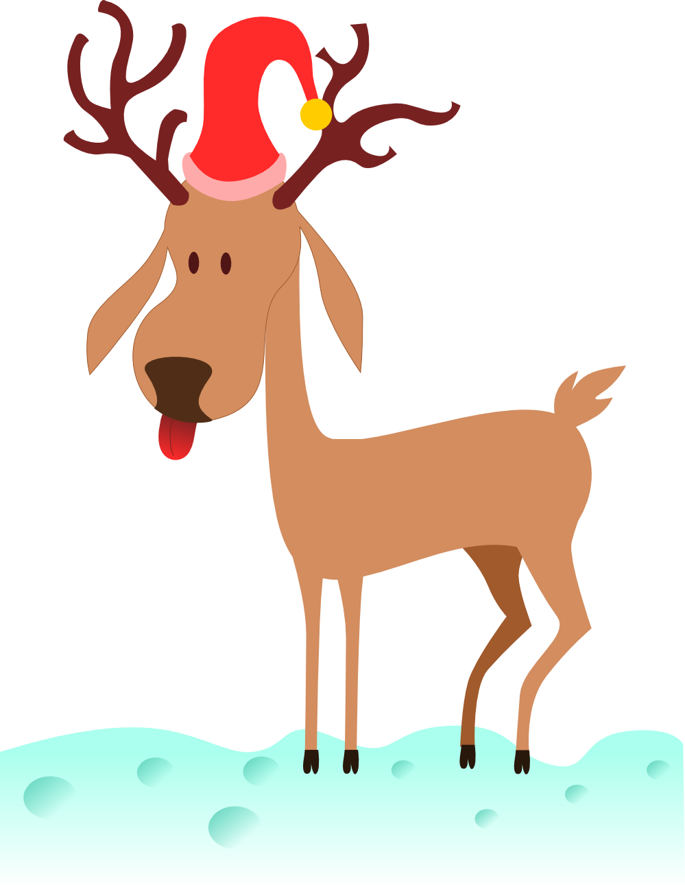 Deer clipart aztec.  collection of funny