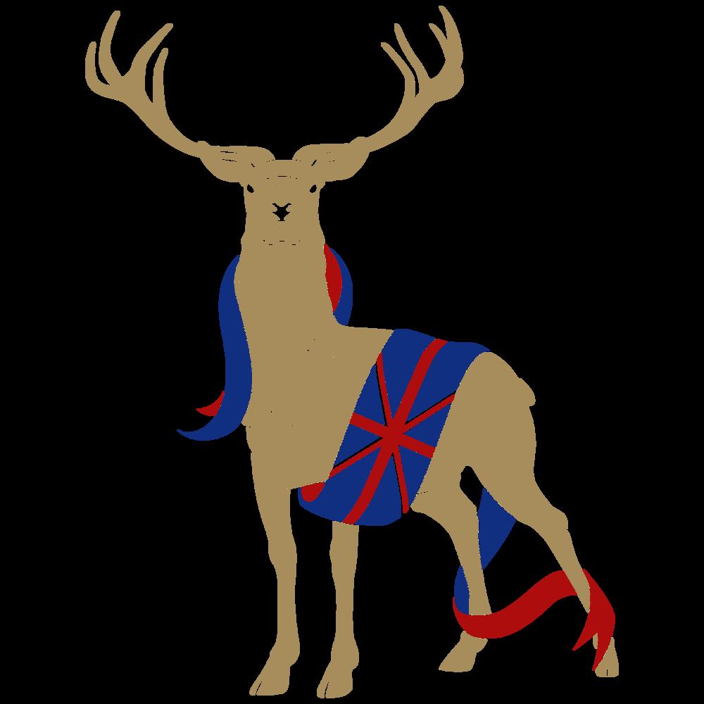 Clipart reindeer gold. Wadsworth wells