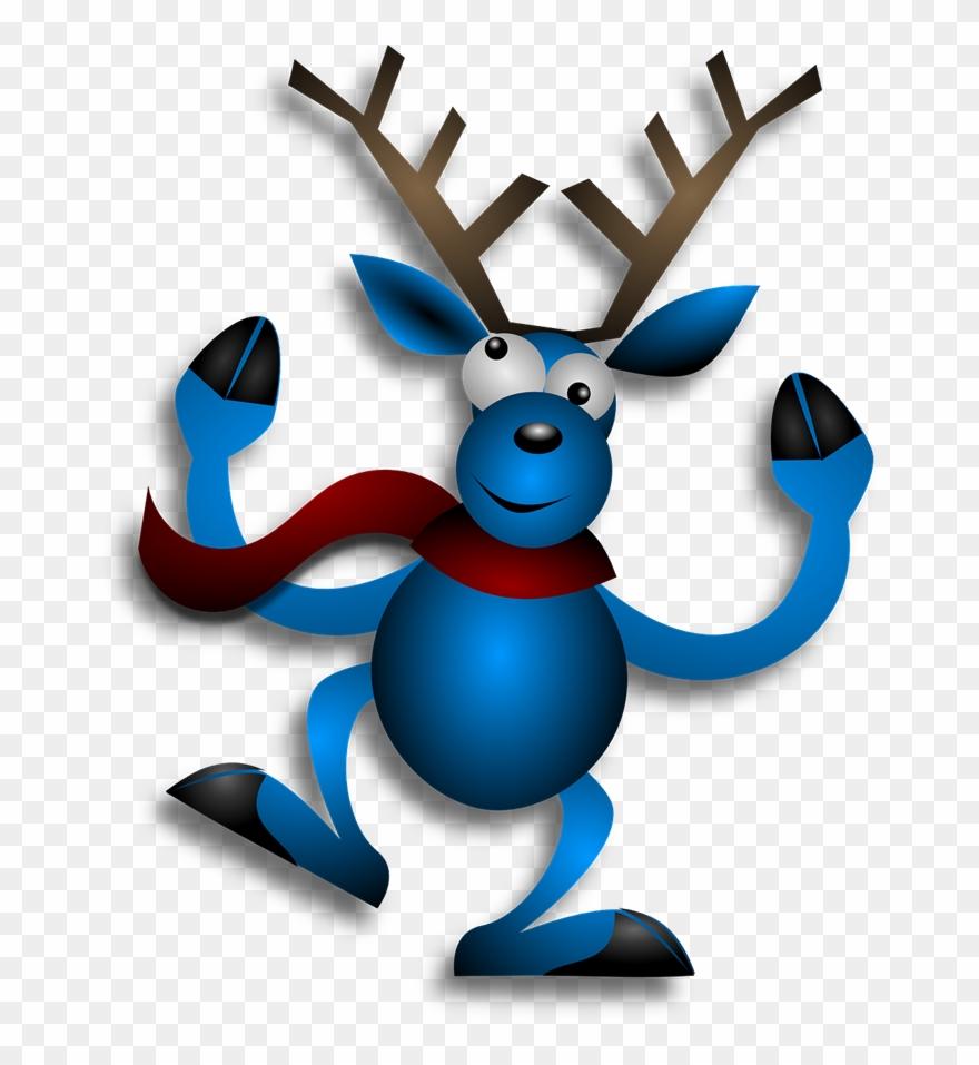 Clipart reindeer happy. Free merry christmas mug