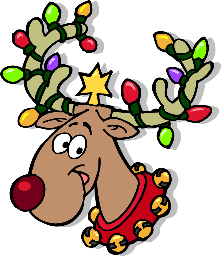 Clipart reindeer happy. Free singing cliparts download