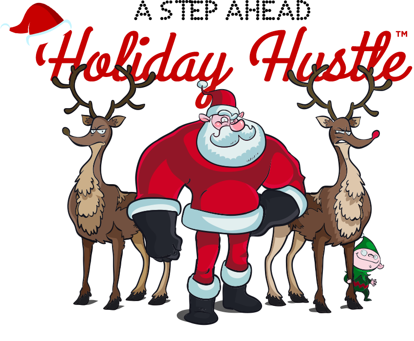 Deer clipart walking. A step ahead holiday