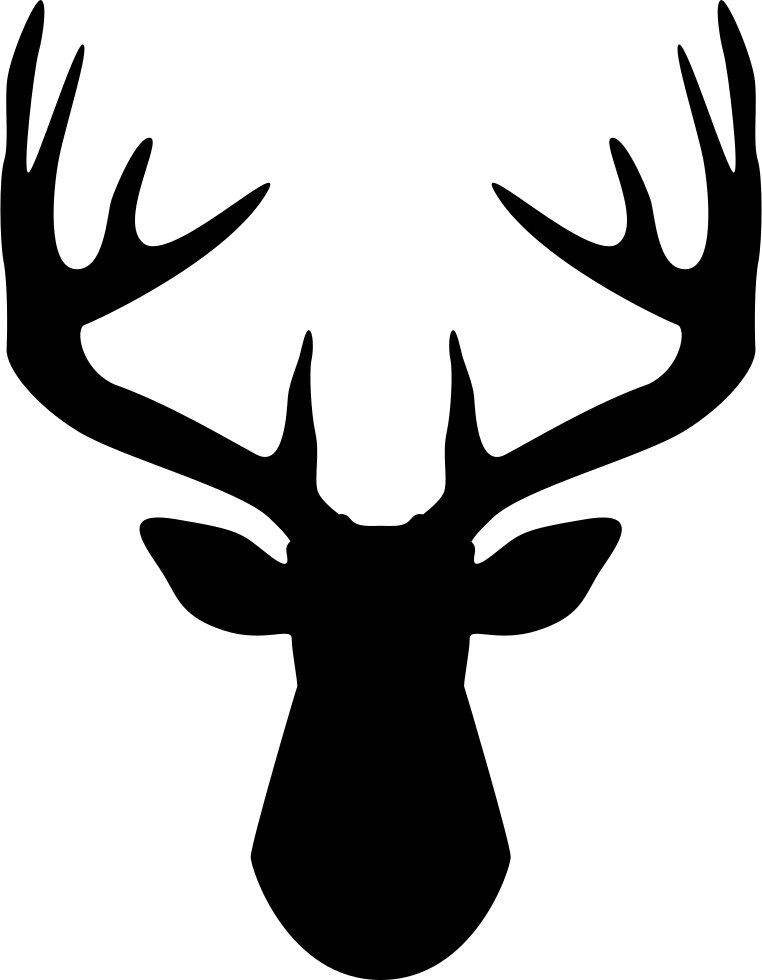 Svg png icon free. Footprints clipart deer
