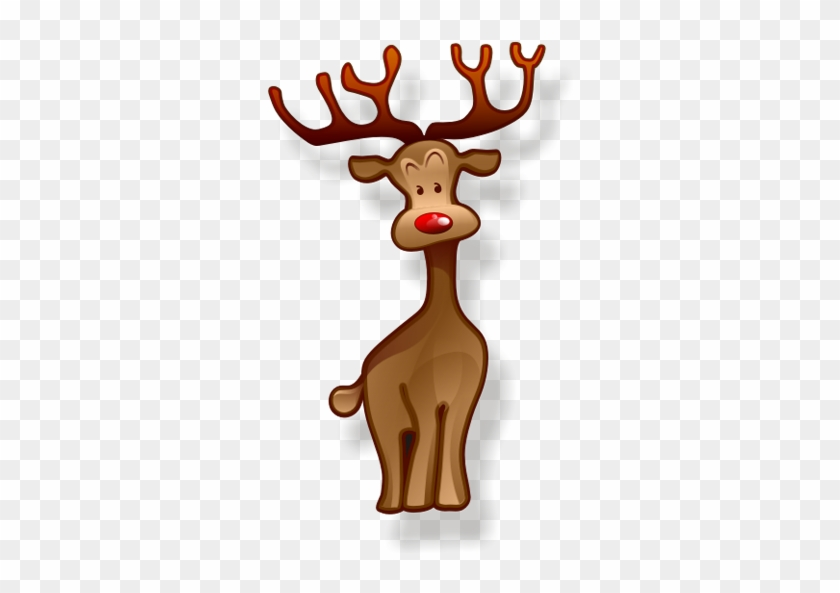 Png christmas icons free. Clipart reindeer icon