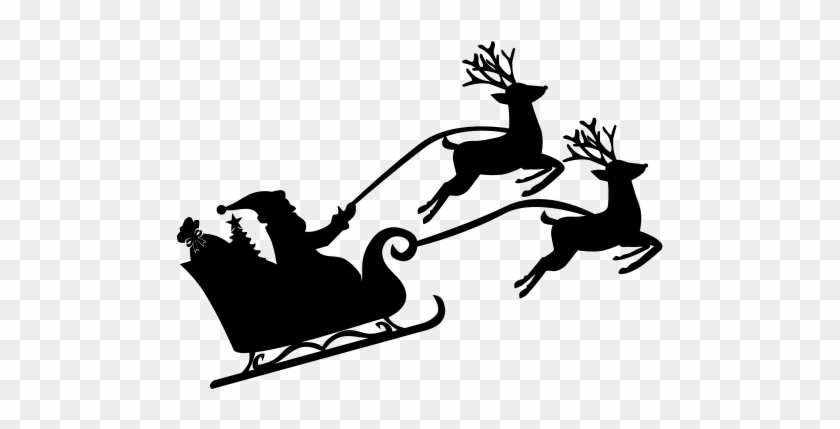 Clipart reindeer icon. Santa with free transparent
