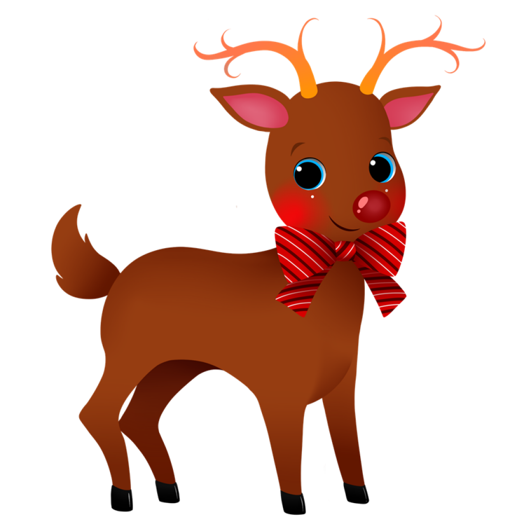 Th of july hatenylo. Clipart reindeer illustration