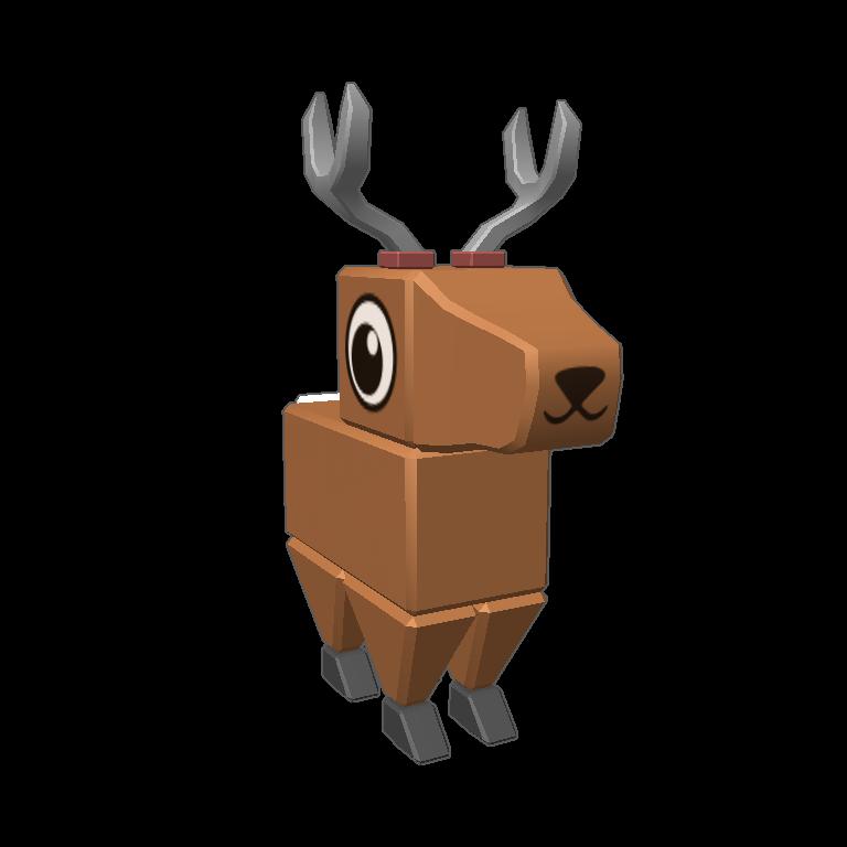 Blocksworld by . Clipart reindeer kawaii