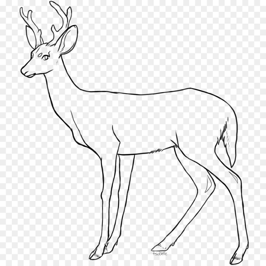Book black and white. Clipart reindeer line