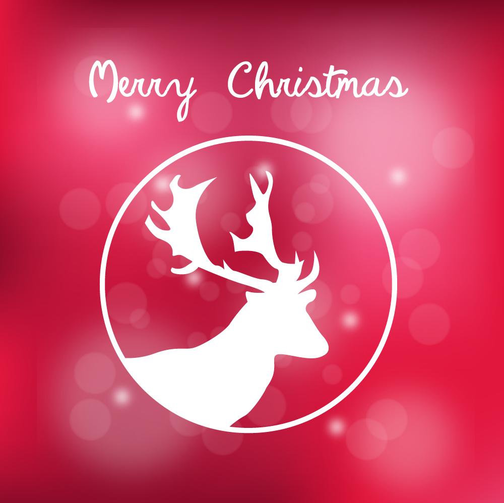 Vector design clip art. Clipart reindeer mad