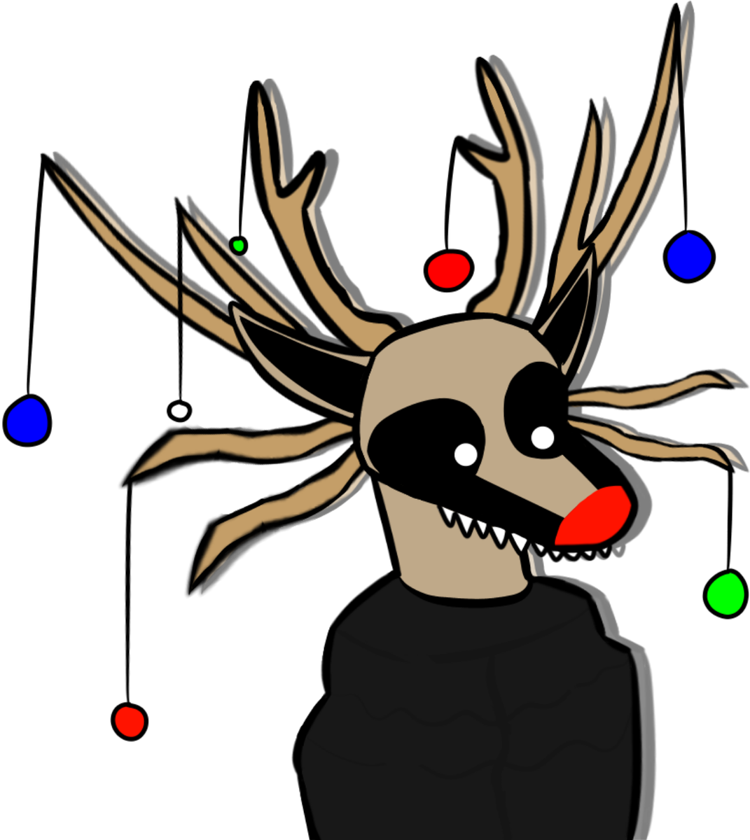 Clipart reindeer mad. Shojs hashtag on twitter