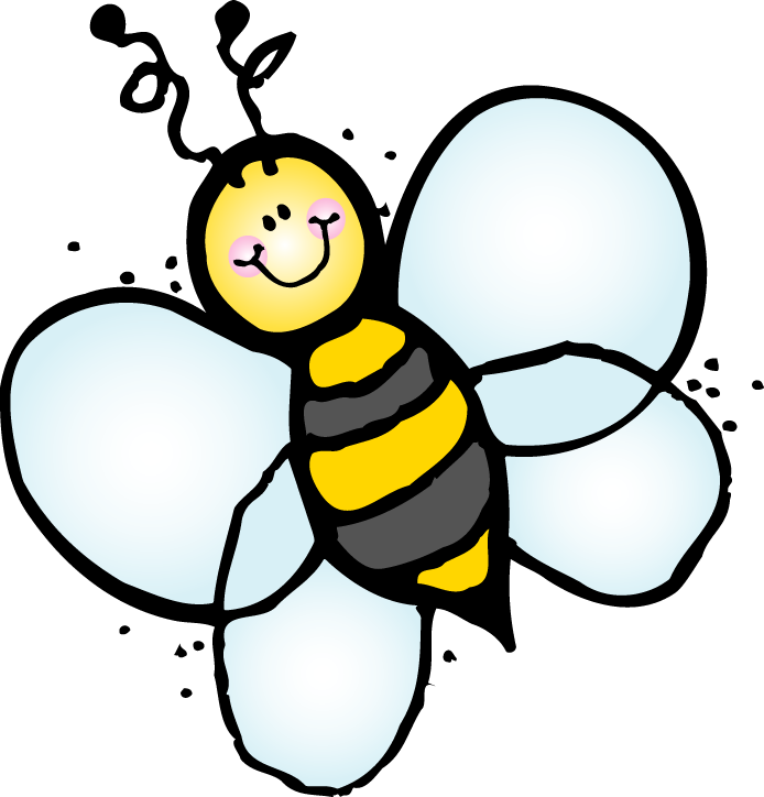 Kid clipart bee. Buck teacher pencil and