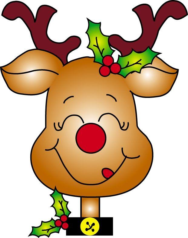 Signs craft . Clipart reindeer merry christmas reindeer