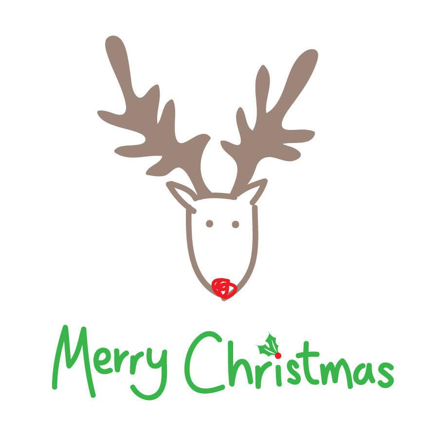 Xmas stuff for clip. Clipart reindeer merry christmas reindeer