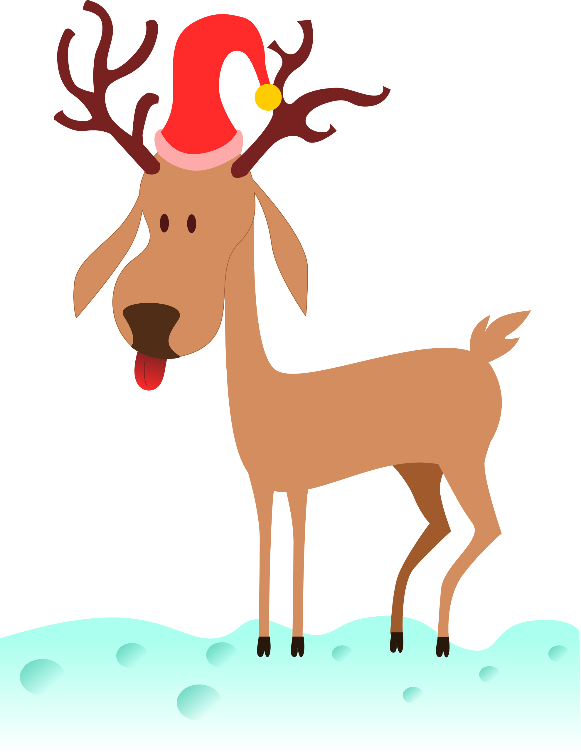 Heartbeat clipart deer. Clipartist net search results