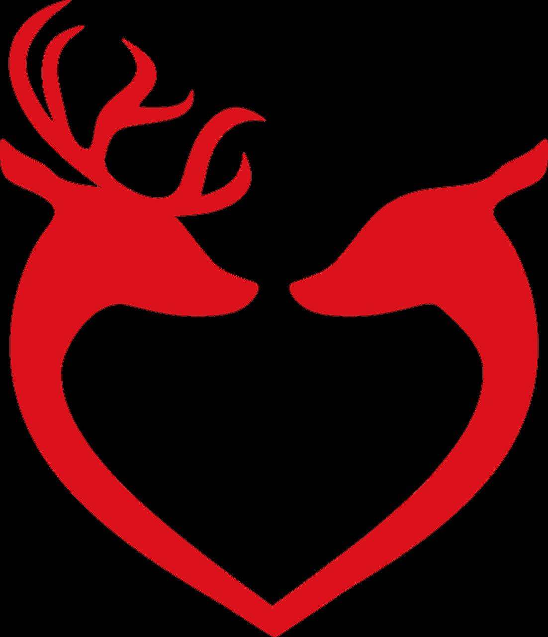 Free image on pixabay. Clipart reindeer ornament antler clipart