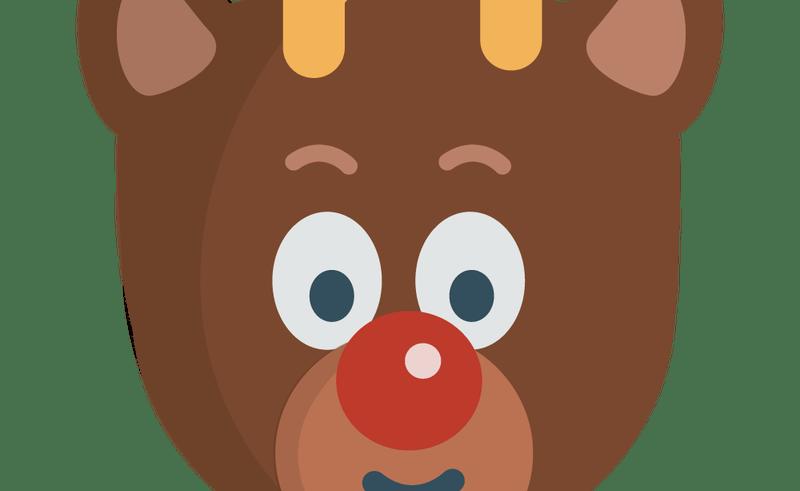Clipart reindeer pretty. Serious face clip art