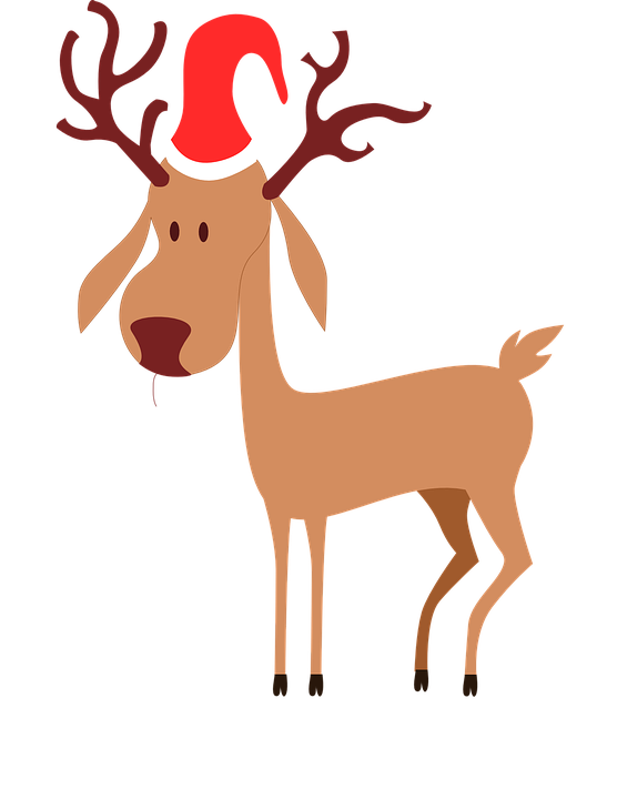 Antlers christmas cliparts shop. Clipart reindeer realistic