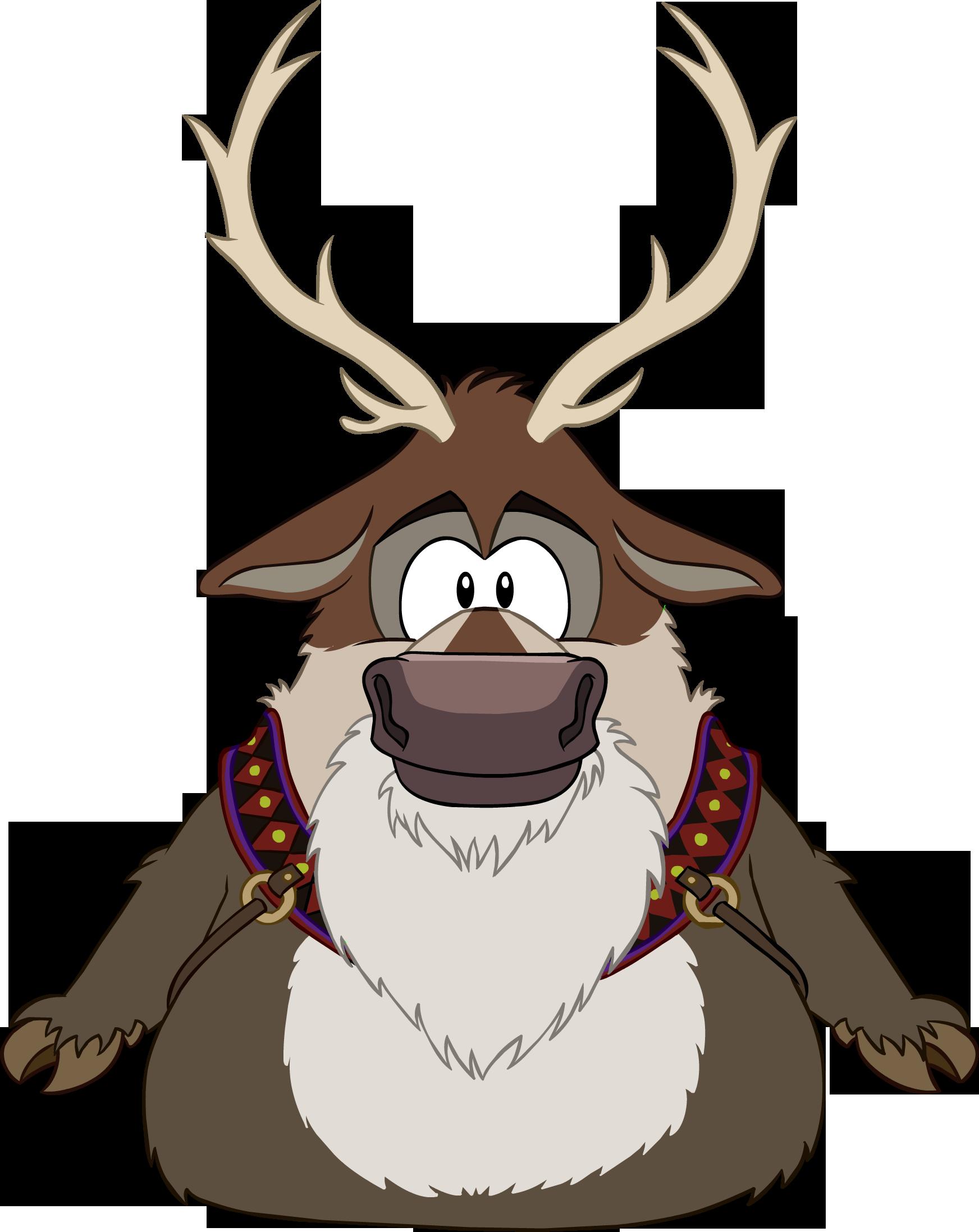 Sven club penguin wiki. Clipart reindeer reindeer costume