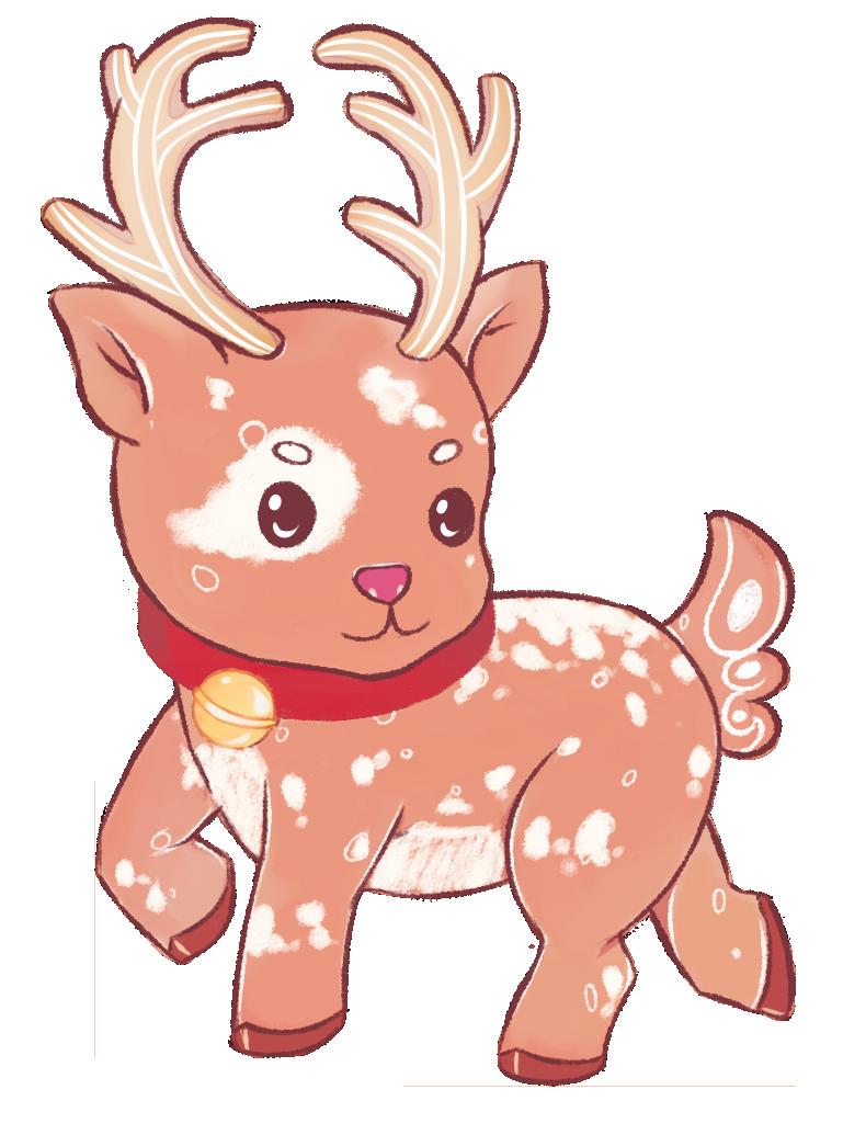 Clipart reindeer reindeer costume. Hunters wanted by elandria
