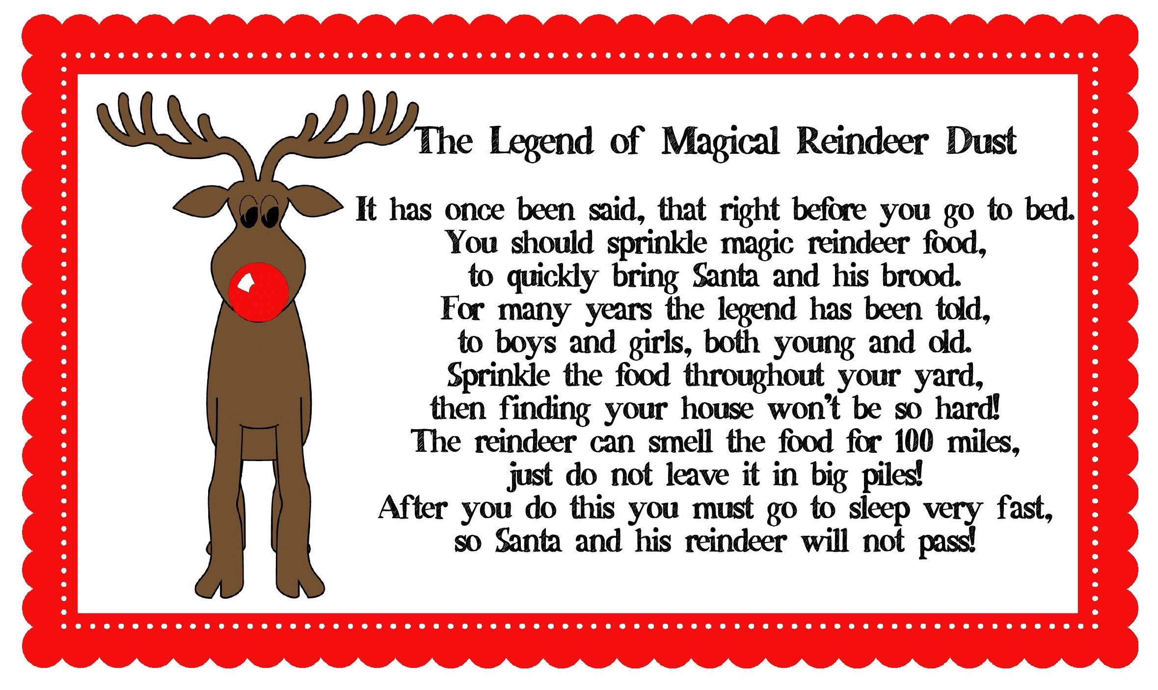 Clipart reindeer reindeer food. Magic clip art library