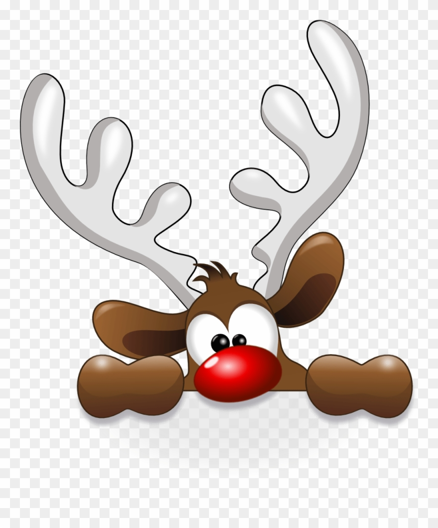 Clipart reindeer reinder. Free christmas png