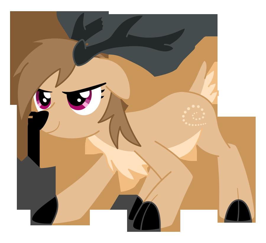Clipart reindeer reinder. Mlp dasher by xelku