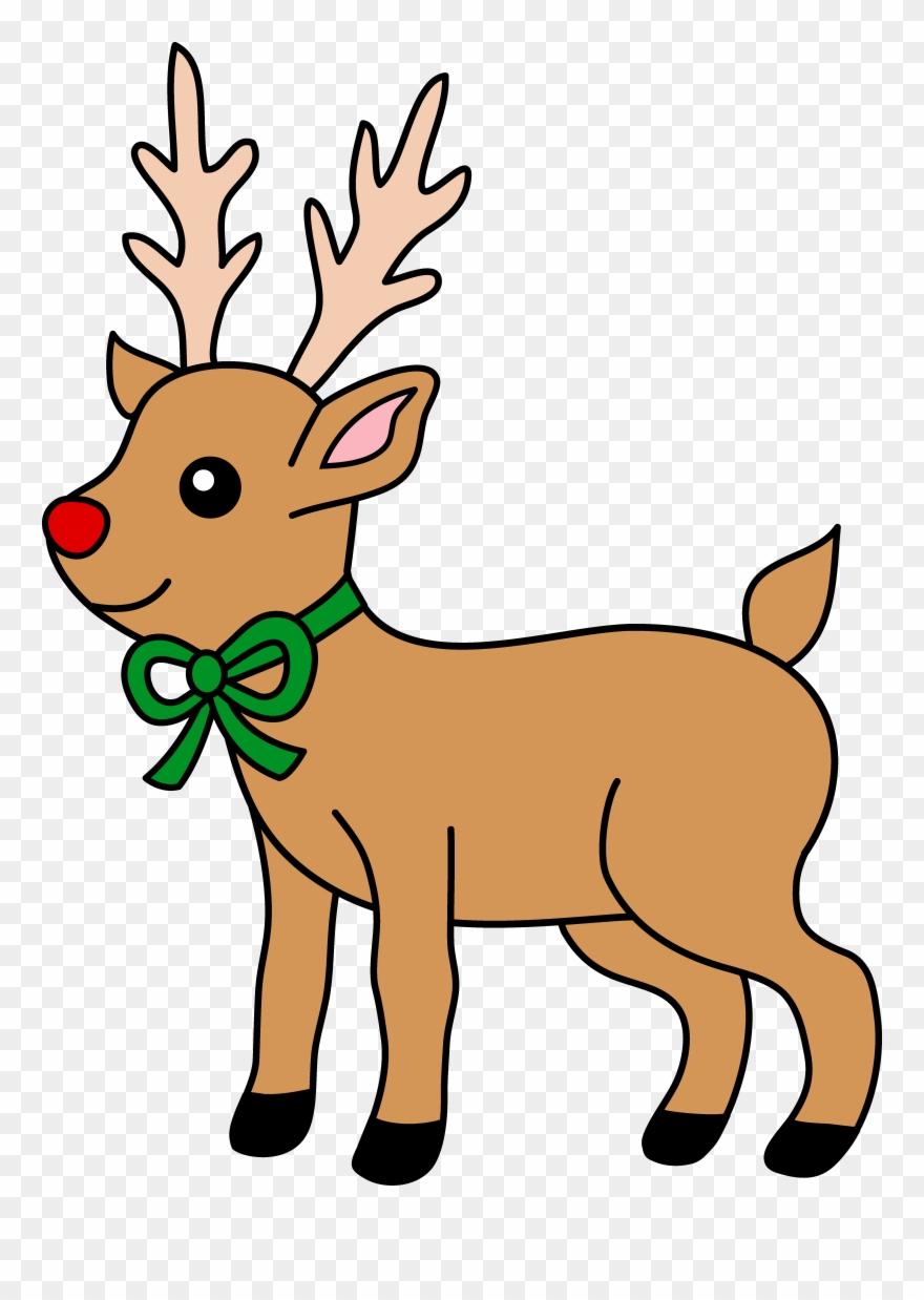 Rudolph the throw blanket. Clipart reindeer reinder