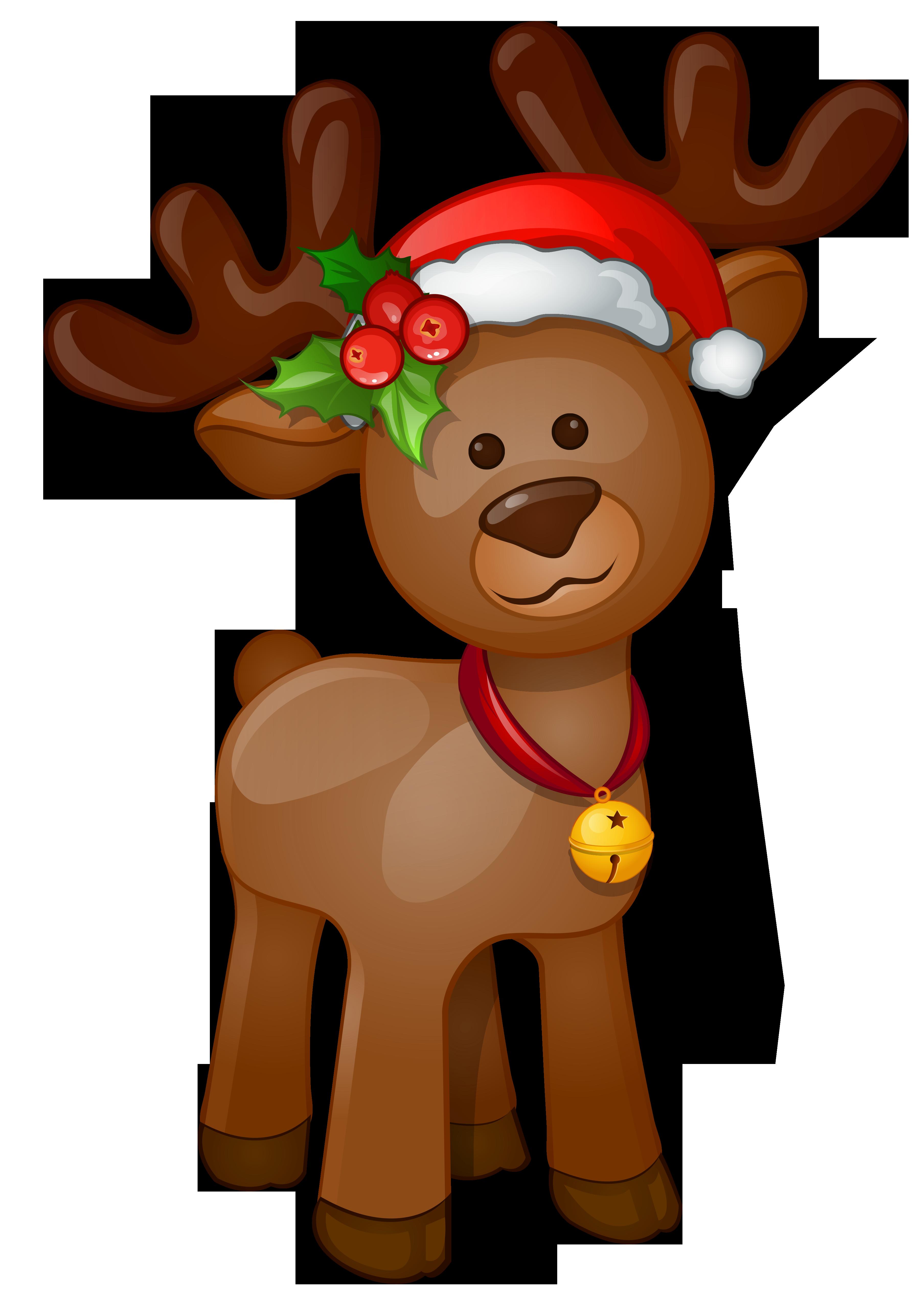 Deer clipart merry christmas. Rudolph png clip art