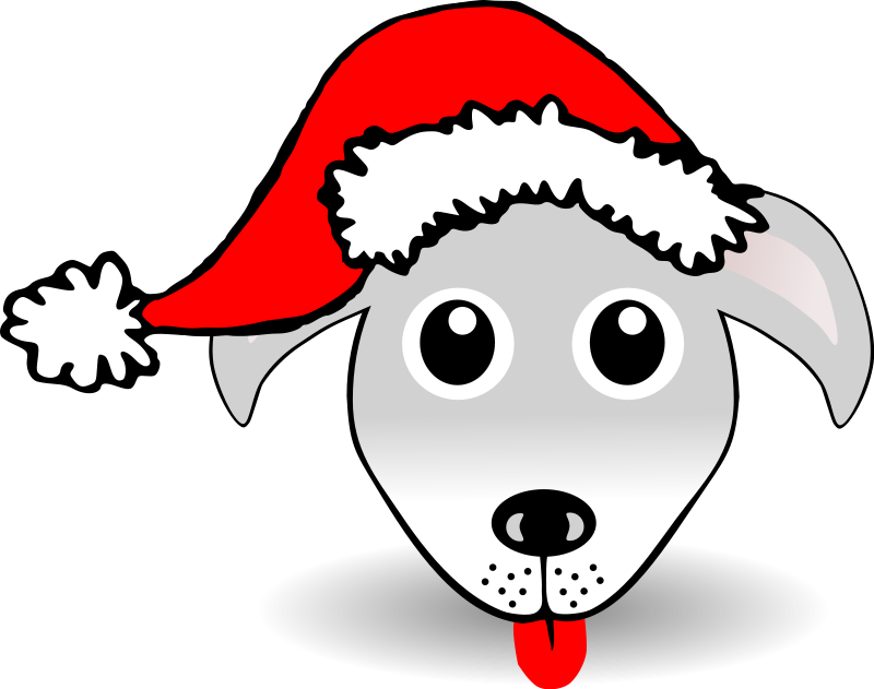 Silly pencil and in. Clipart reindeer santa hat