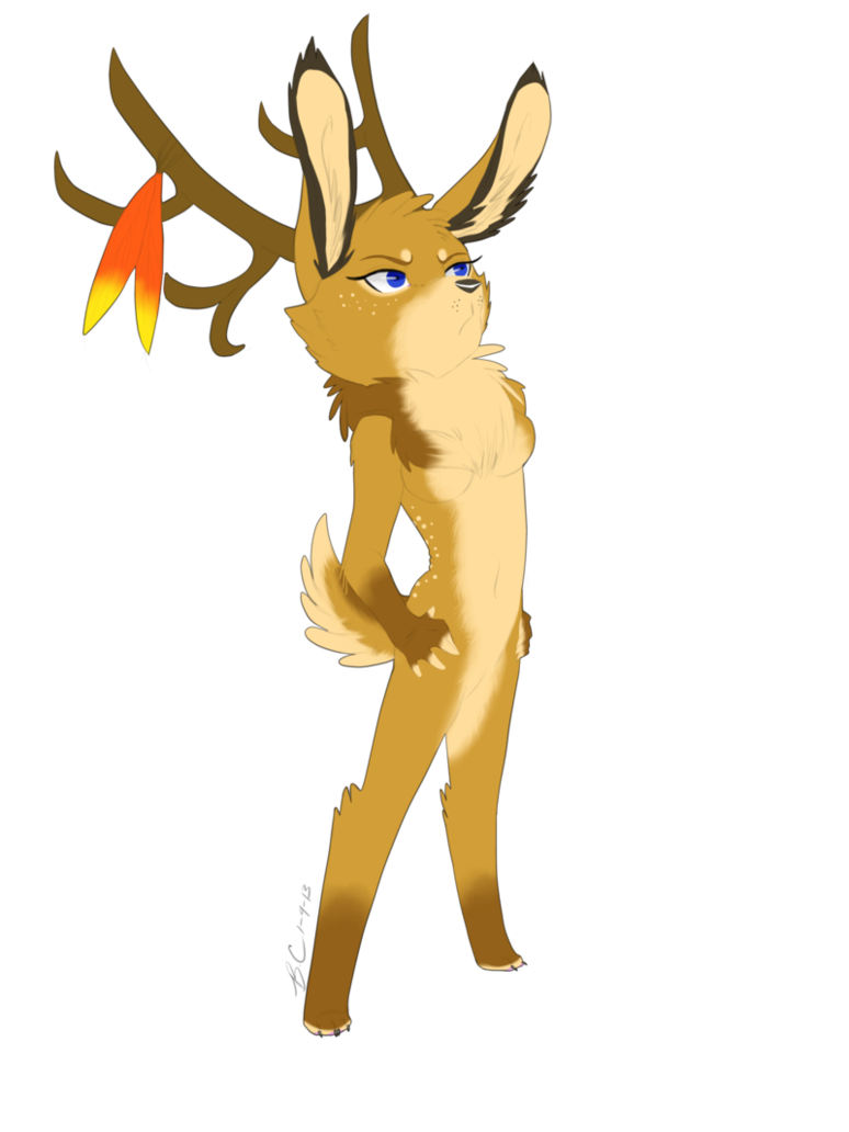 Deer clipart deer meat. Protector by cabbion on