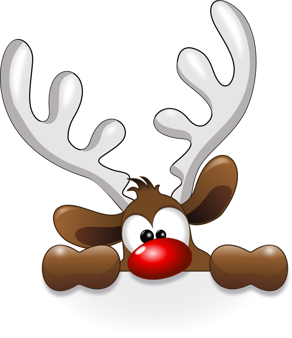 Win clipart bathroom window. Funny reindeer christmas winter