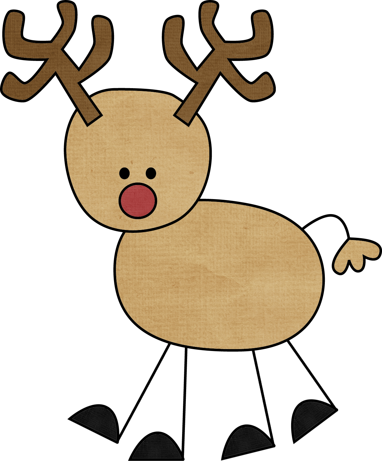 Clipart reindeer simple, Clipart reindeer simple ...