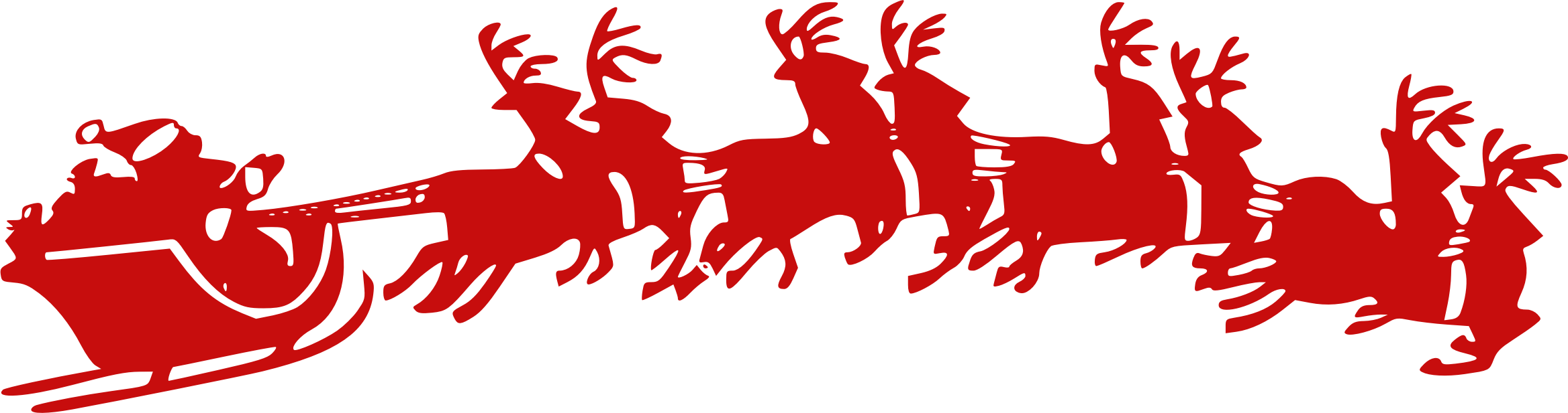 Clipart reindeer sleigh. Santa s icons png