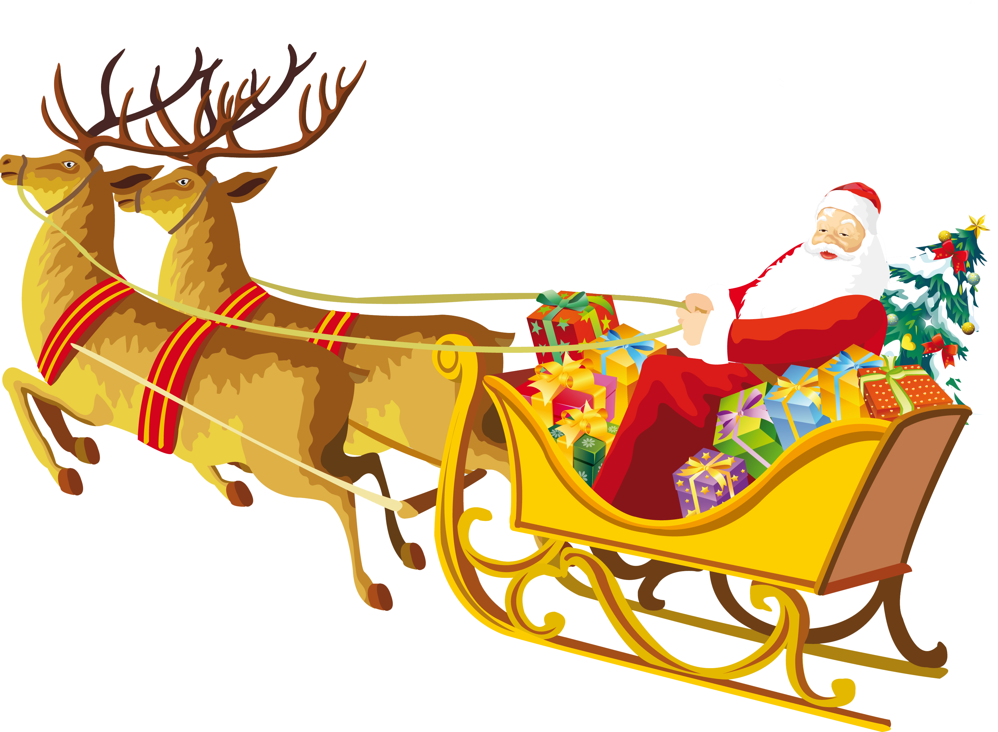 Free Santa Reindeer Cliparts, Download Free Clip Art, Free Clip Art on  Clipart Library