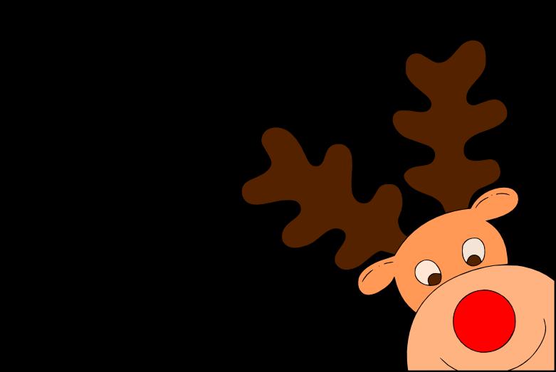 Clipart reindeer svg. Corner here cricut pinterest