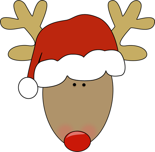 Clipart reindeer toddler. Free christmas images download