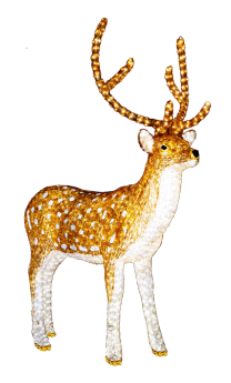 Free christmas clip art. Clipart reindeer two
