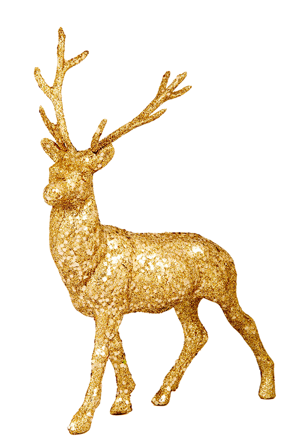 Clipart reindeer two. Free christmas clip art