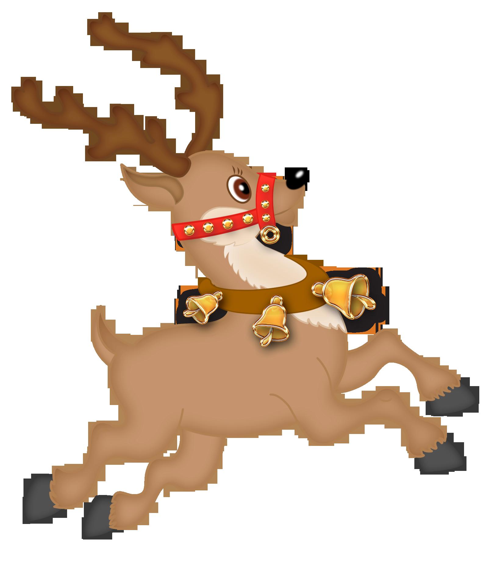 Winter clipart craft. Cute reindeer png christmas