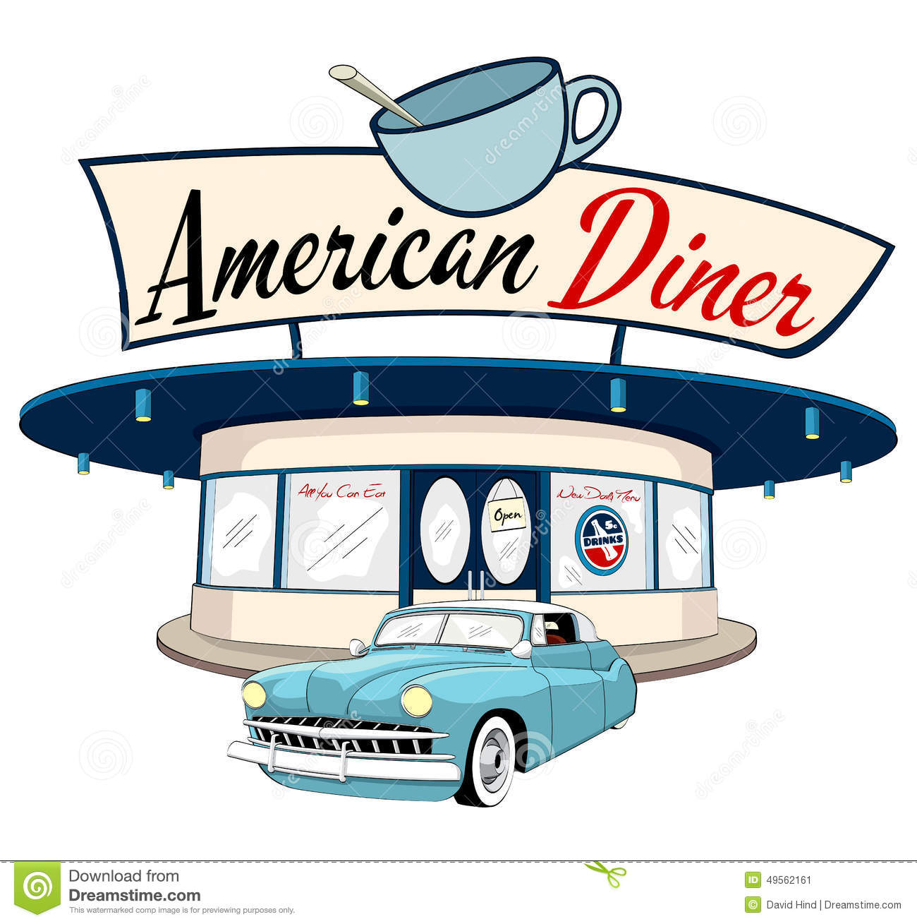 Free download best on. Diner clipart drive in diner