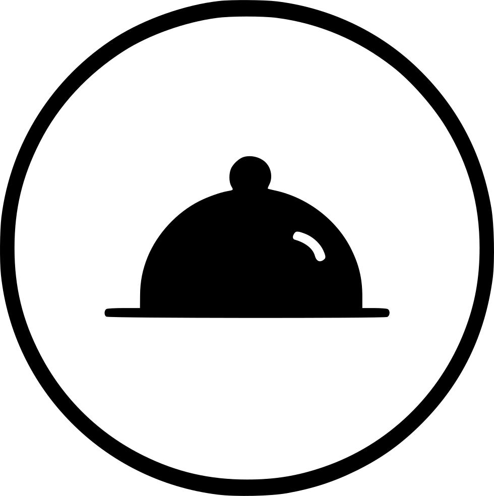 Kitchen appliances dish restaurant. Dinner clipart dinner plate