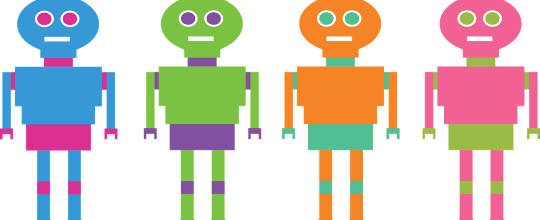 How chatbots make the. Human clipart few person