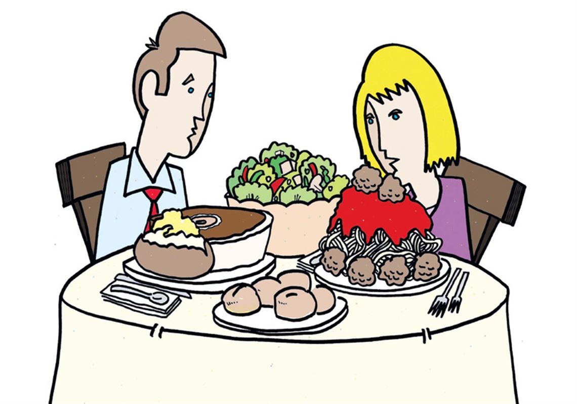 Clipart restaurant big meal. Food for thought why